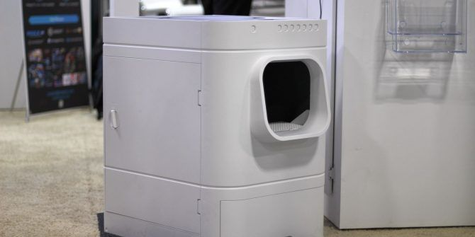 Unnecessary Tech: LavvieBot Unveils a Smart Toilet for Cats at CES