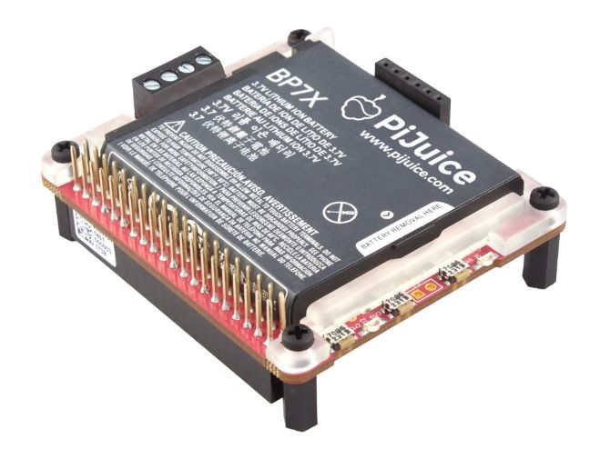 PiJuice lets you take your Raspberry Pi anywhere