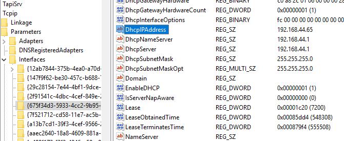 Disable Nagle's Algorithm in Windows 10
