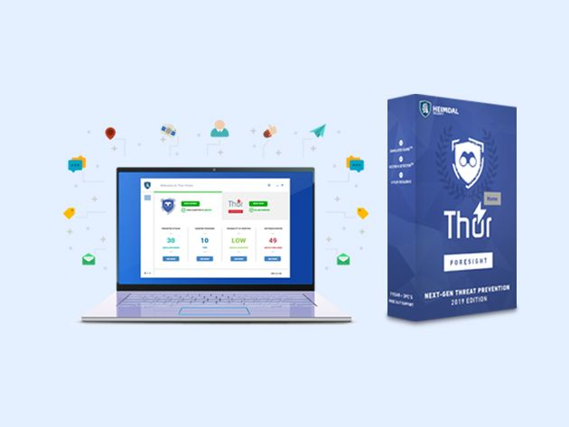 Get Lifetime Malware Protection for $59.95 with Heimdal Thor Foresight