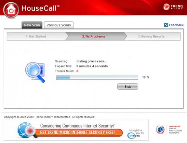 trend micro housecall antivirus