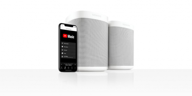 YouTube Music Now Works With Sonos Speakers