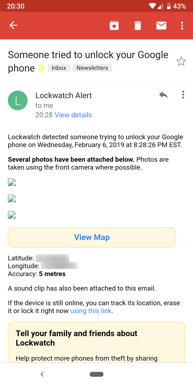 The 3 Best Apps to Catch the Person Who Tried to Unlock Your