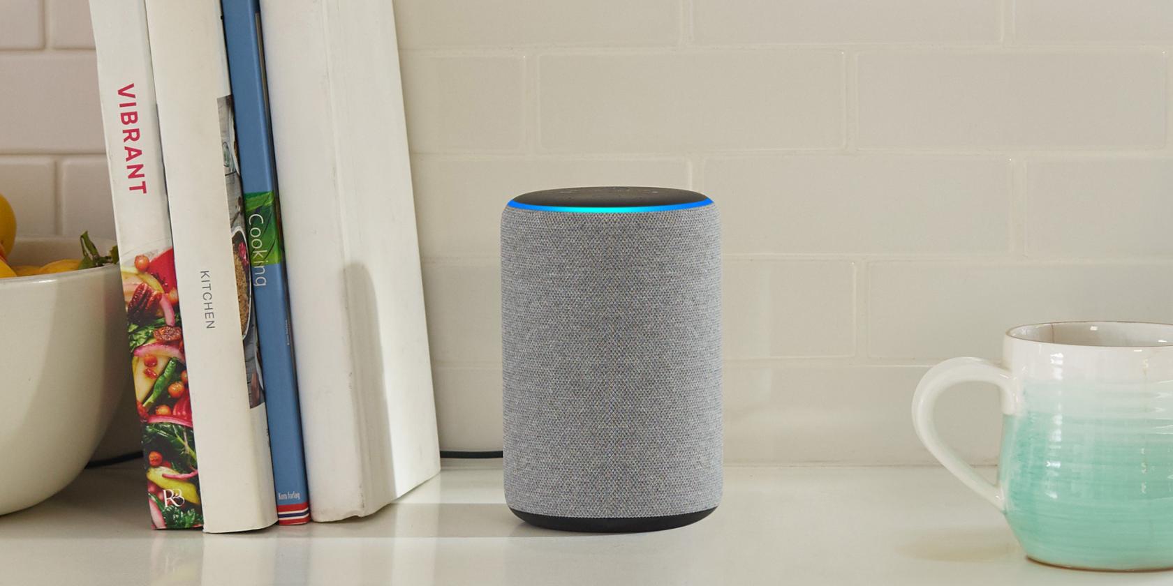 Amazon Alexa second generation smart speaker.