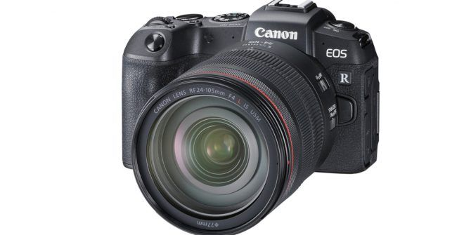 Canon Announces Full-Frame EOS RP Mirrorless Camera