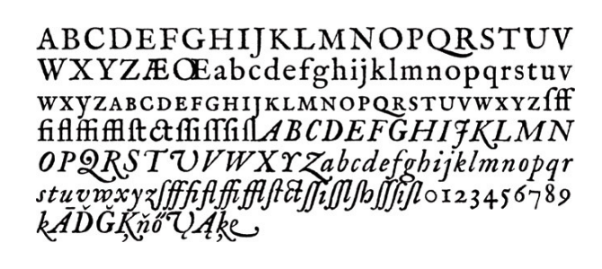 Fell Types Old English Font