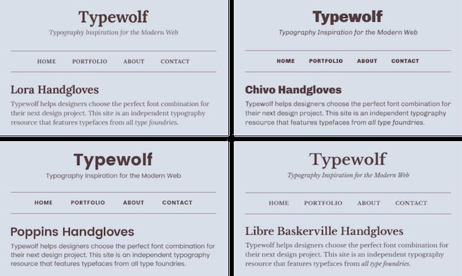 Typewolf Google Fonts Serif Sans Serif