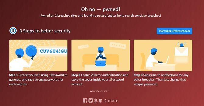 how to check if your email address has been leaked breach