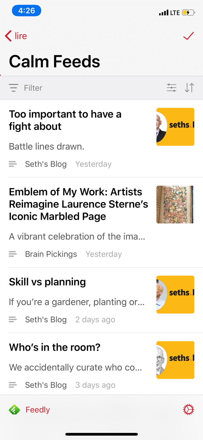 The 5 Best RSS Reader Apps for iPhone
