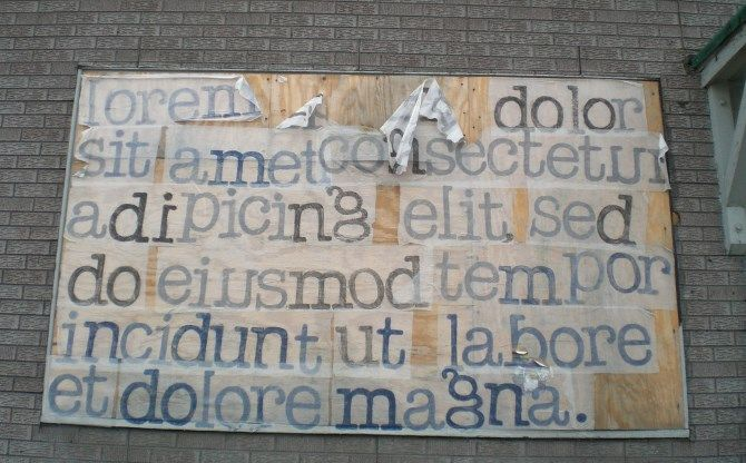 Lorem Ipsum Board
