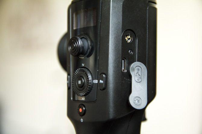 Moza Air 2 Gimbal USB-C Port
