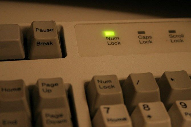 Num Lock Keyboard Light