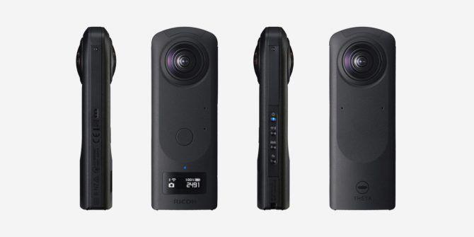 Ricoh Announces High-End Theta Z1 360-Degree Camera