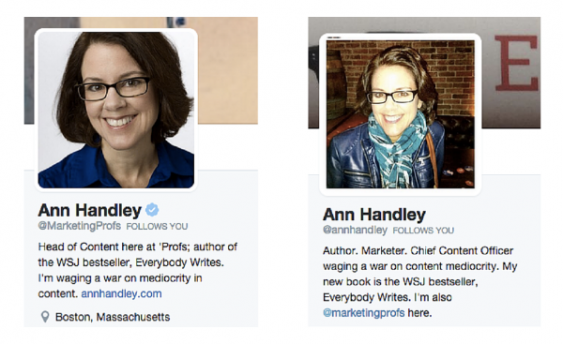 profiles ann handley example