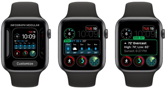 Apple Watch Customize Complications