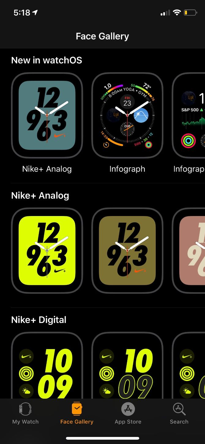 apple watch face gallery main
