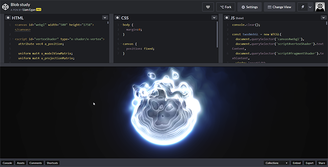 Codepen is an online playground for designers