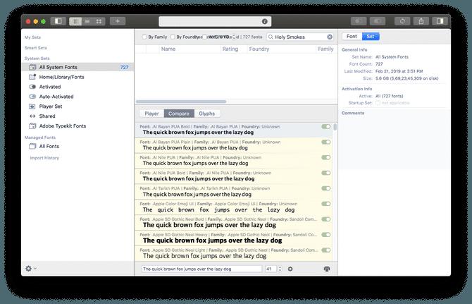 font agent 8 font management software for mac