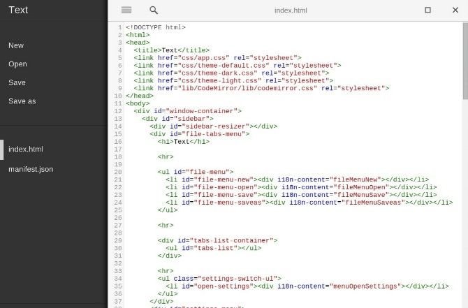 Text.App is a free text editor and notepad replacement for chrome and chrome os