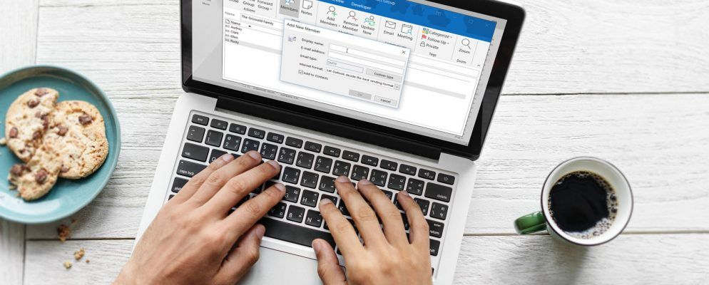 How to Create an Email Group and Distribution List in Outlook