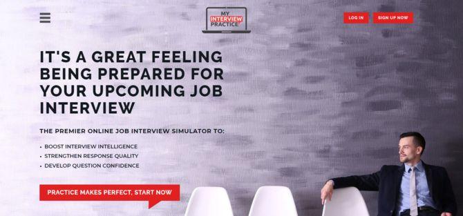 mock interview practice online website