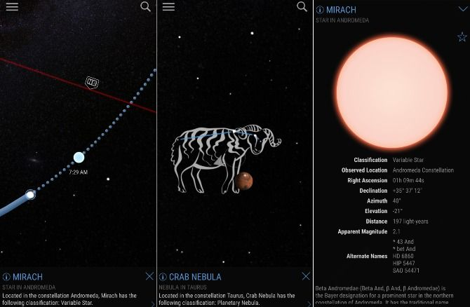 The 10 Best Astronomy Apps for Enjoying the Night Sky sky view free screenshots