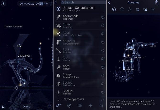 The 10 Best Astronomy Apps for Enjoying the Night Sky star walk 2 screenshots
