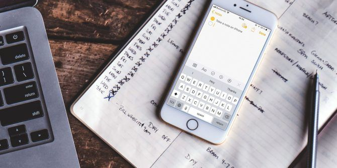5 Ways to Instantly Take Notes on Your iPhone