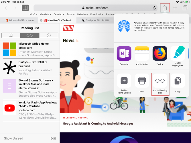 4 Ways to Organize and Manage Web Content on Your iPad