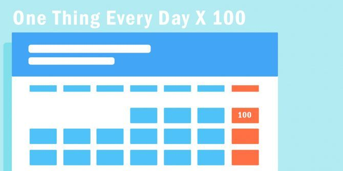 Failing at Big Goals? These 100 Days Projects Might Motivate You Again
