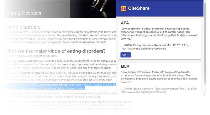 Properly cite a website using APA or MLA