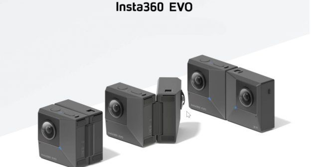 Insta360 EVO Is a Tiny, Foldable 3D and VR Camera