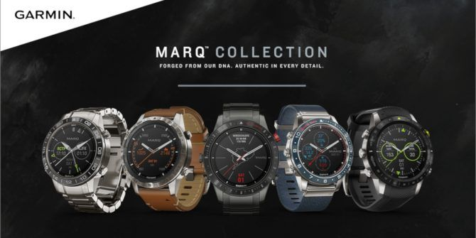 Garmin's New Marq Luxury Smartwatches Are Targeted at Specific Activities