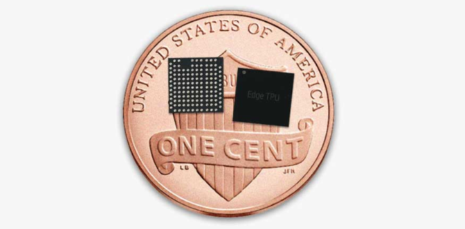 Edge TPU chip for Machine Learning
