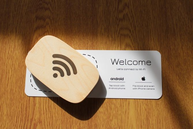 Wifi Porter Photograph on Instructional Placemat