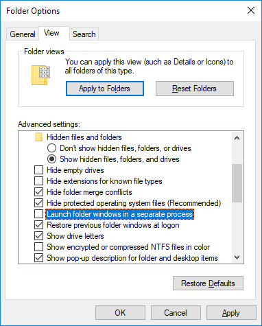 How to Delete a File in Use by Another Program Windows Folder Options