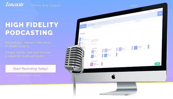 Zencastr for podcasting
