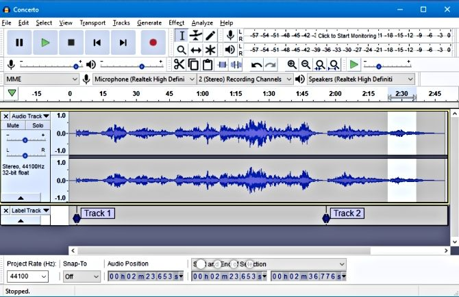 audacity podcast software