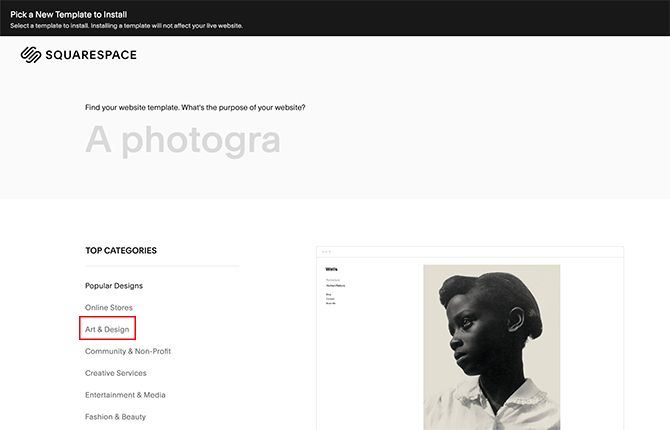 3f8ba2d6fcd3e The 6 Best Squarespace Templates to Display Your Photos and Art