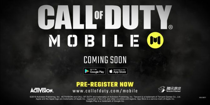 Call of Duty: Mobile Is Coming Summer 2019