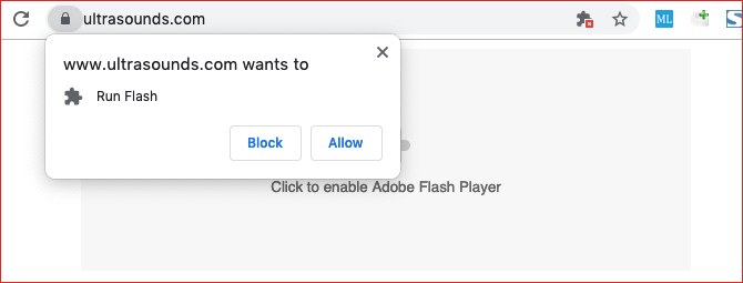 click to play flash content in google chrome