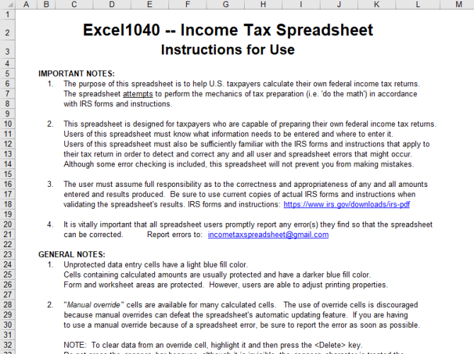 Turn Microsoft Excel Into a Tax Calculator With These Templates