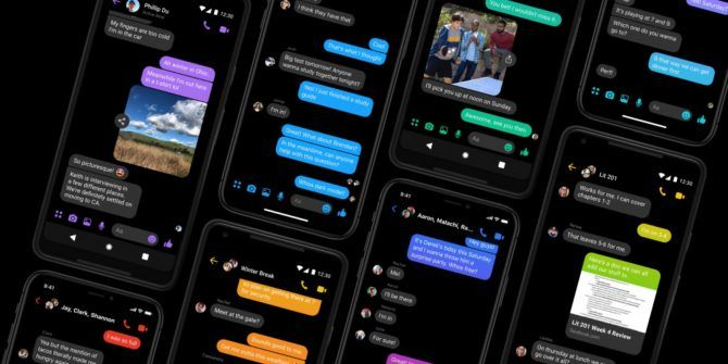 You Can Now Enable Facebook Messenger's Dark Mode