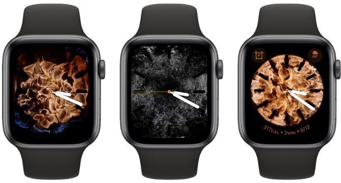 Fire Water Apple Watch Face