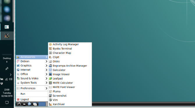 Linux desktop in Windows