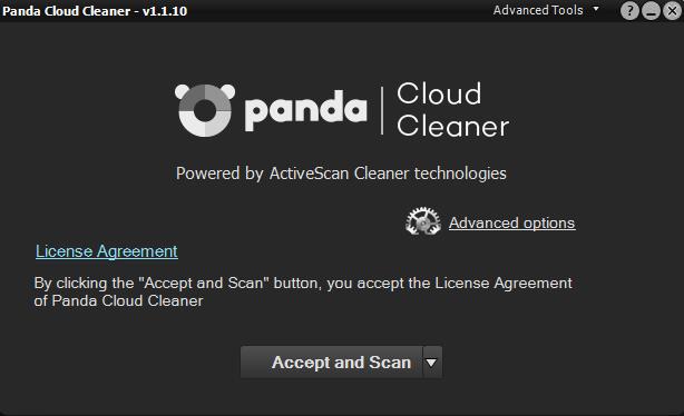 online antivirus panda cloud cleaner
