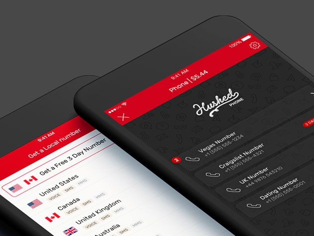 Get a Second Phone Number for Work and Dating with Hushed