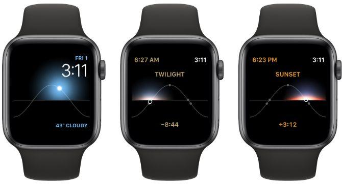 Solar Apple Watch Face
