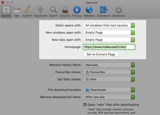 tweak tab and window behavior in Safari preferences on Mac