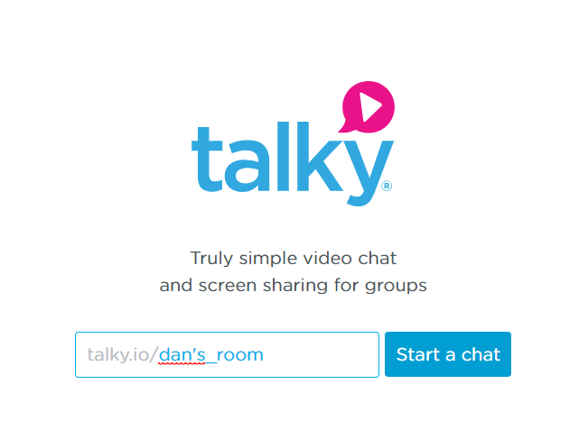 talky room name